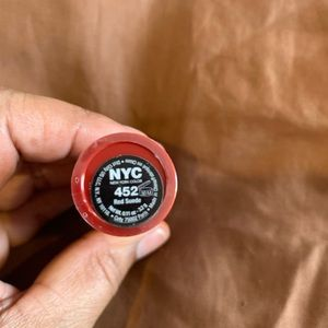 NYC Makeup - NYC LIPSTICK... RED SUEDE 452